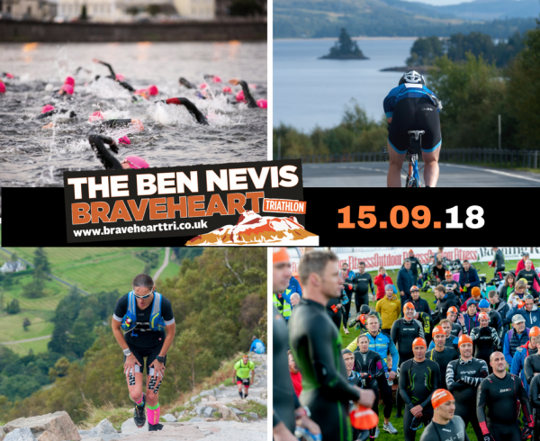 The Ben Nevis Braveheart Triathlon, 15th September 2018